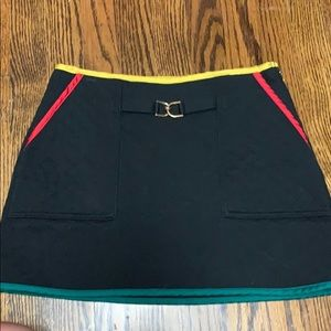Juicy Couture quilted mini skirt